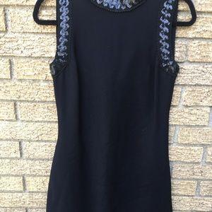 🌲🌲Vintage Burt Stanley Sleeveless Black Dress
